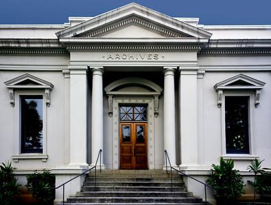 Archives Building on the grounds of the 'Iolani Palace  Honolulu, O'ahu, Hawai'i