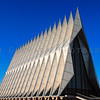 Cadet Chapel, USAFA, Colorado Springs, CO