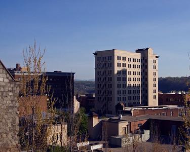 Lynchburg Skyline from Monument Terrace