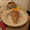 Slice of Bakewell Tart from the Bakewell Tart Coffee House