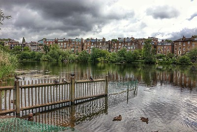 Hampstead ponds. The last place the Fleet is above ground.