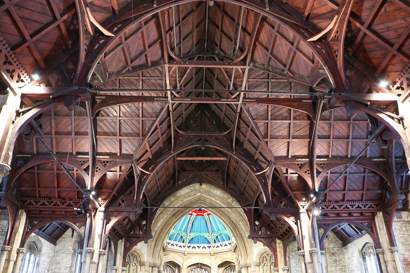 St Martins Church Gospel Oak. Architect Edward Buckton Lamb