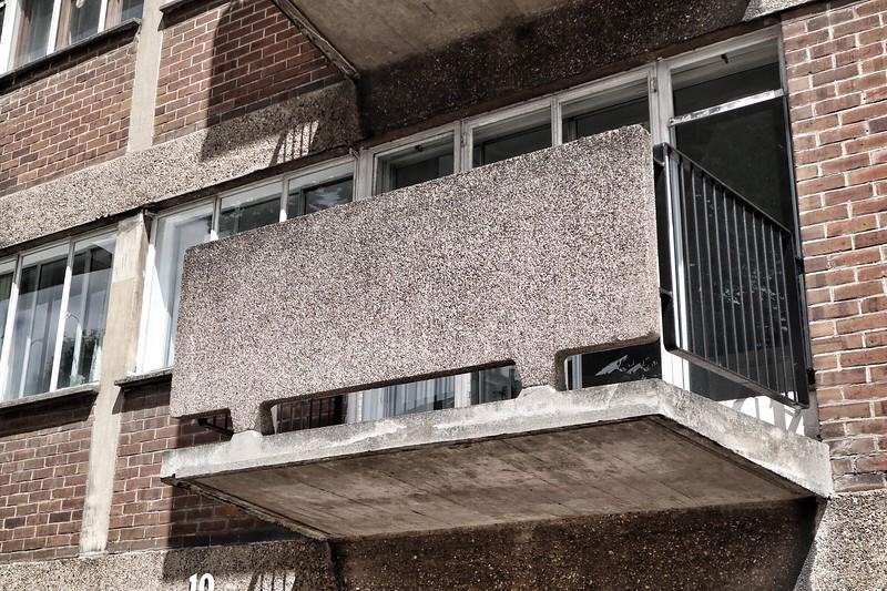 Social housing by Goldfinger
