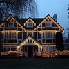 Frazier Home on South Palouse with Christmas Lights