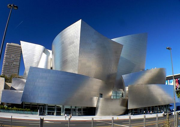 Walt Disney Concert Hall<BR><CENTER> Los Angeles