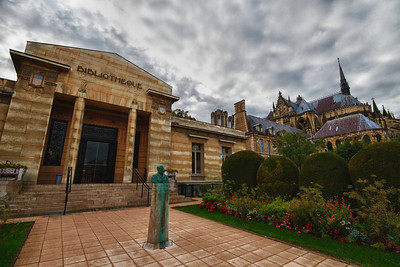 Carnegie Library, Reims