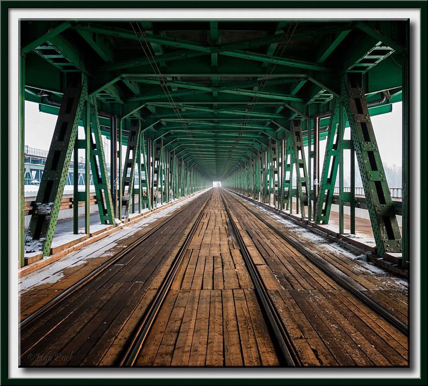 Bridge over River Vistula