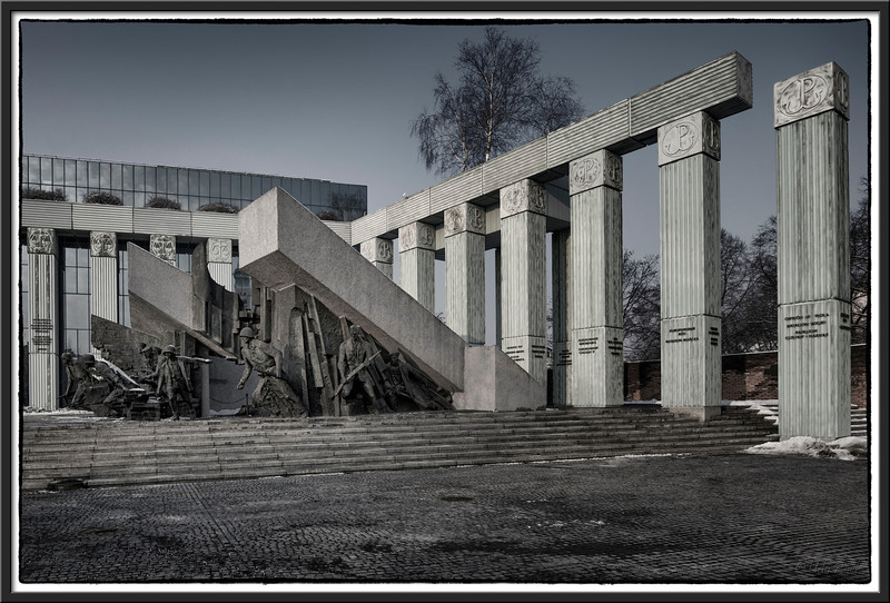 Monument to the Warsaw Uprising Soldiers