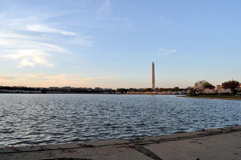 Tidal Pool and Washington Memorial