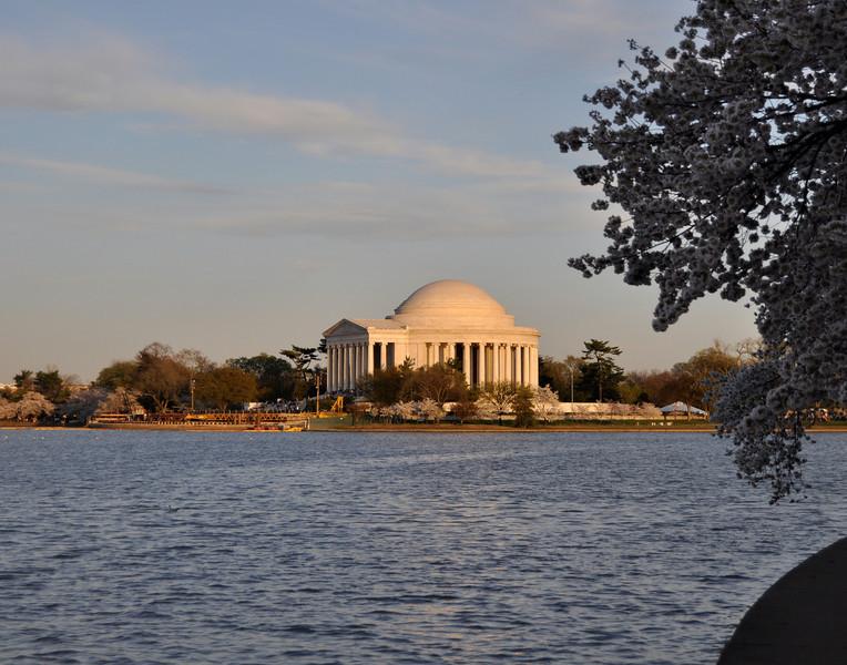 Tidal Pool and Jefferson Memorial