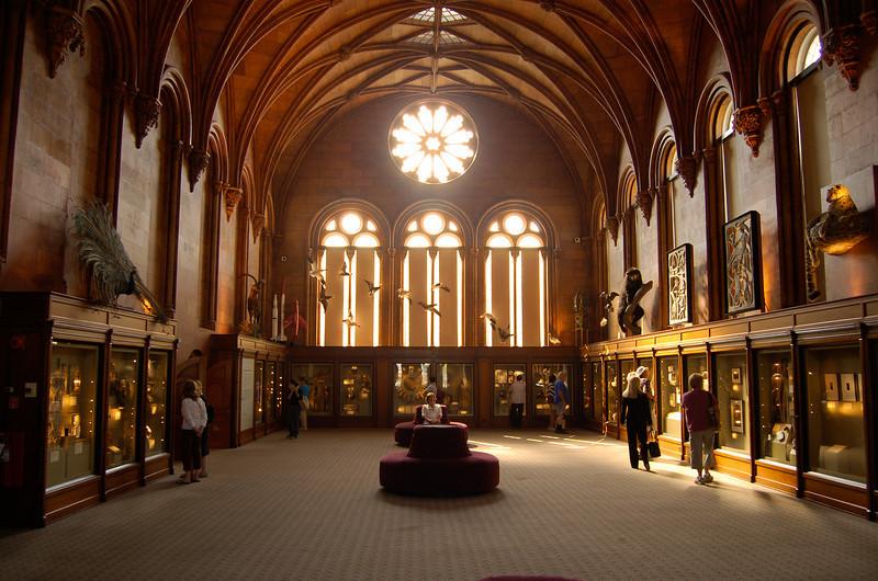 Inside the Smithsonian Castle, Washington, DC.