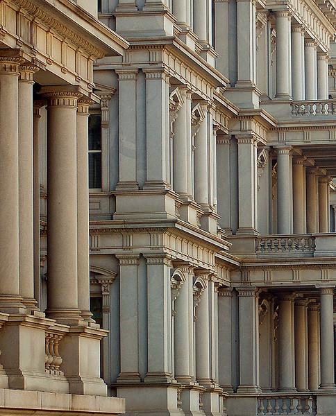 The executive building, Washington, DC.