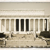 The Lincoln Memorial, Washington, DC.