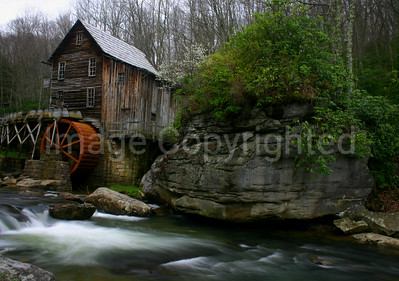 Glade Creek Mill at Babcock State Park