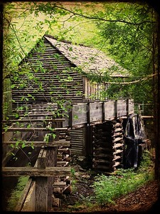 Cable mill in Cades Cove 04/21/12
