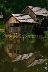 Mabry Mill reflection - 10/19/08