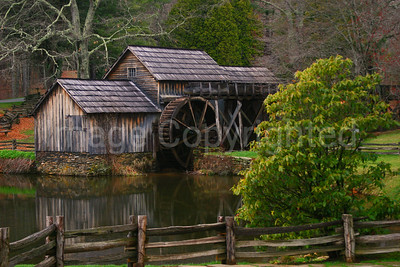 Mabry Mill in summer - 5/1/08
