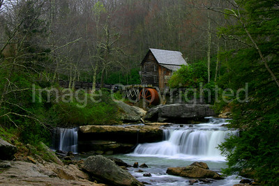 Glade Creek Grist Mill Wide View