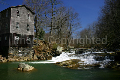 Fidler's Grist Mill in Arlington WV