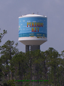 Water tower at Perdido Key, Florida.  Oly E330, ZD14-45 + EC14 Teleconverter