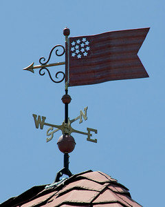 Weathervane on Long Island.