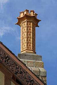Chimney on mansion at LIU Post campus