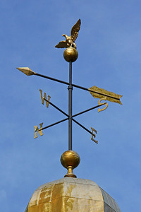 weather vane at LIU Post