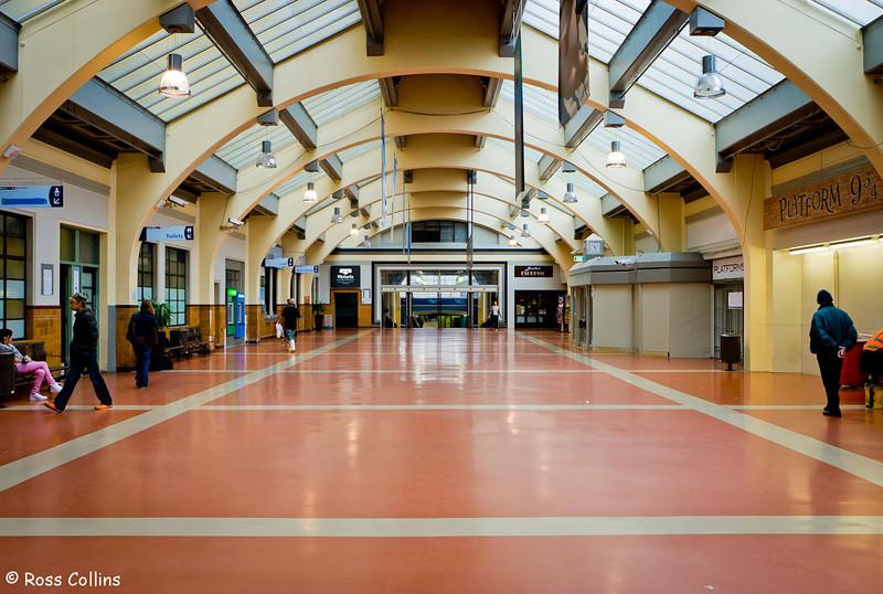 Wellington Railway Station, May 2008