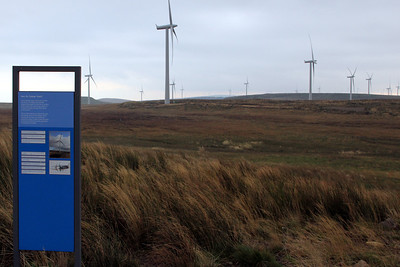 Whitelee Windfarm - 15 October 2011