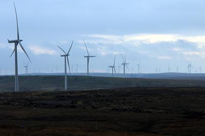 Whitelee Windfarm 15 October 2011
