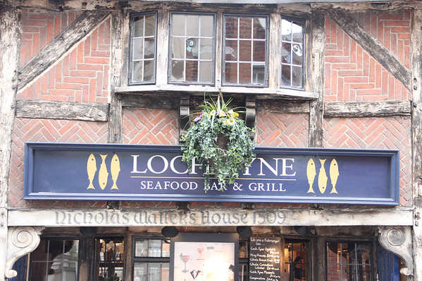 Loch Fyne Restaurant, Winchester<br /> 8 February 2013
