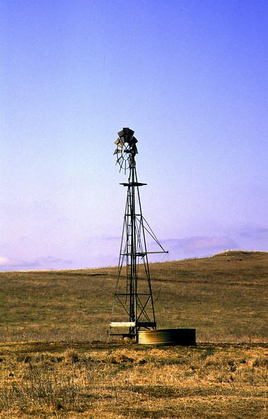 Windmill & water tank - Western Minnesota