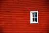Red Barn Wall & Window