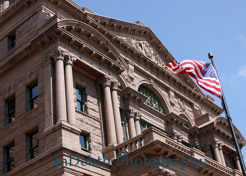1625 Ft. Worth Court House 5X7