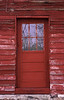 Red shed door - Waseca Co.
