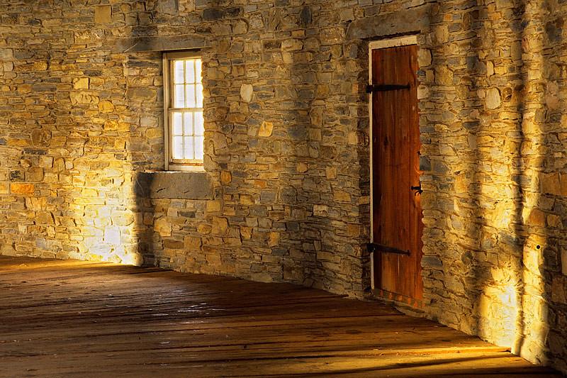 Round Barn Interior