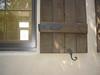 Shutter hardware detail - Levy residence, Pasadena, CA