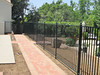 Pool fence - Pyle residence