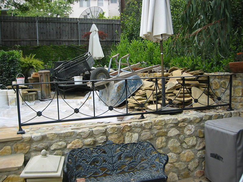 Exterior Fence - Chang residence, La Canada, CA