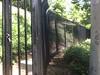 Hillside fence detail - Pasadena, CA