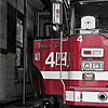 Local Chicago Fire Dept. in the Chinatown area.