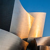 Disney Concert Hall at sunrise