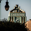 Eastern clock tower