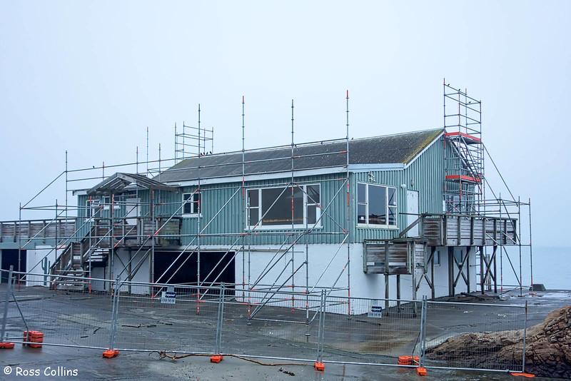 Demolition of Worser Bay Boating Club building, 30 April 2018