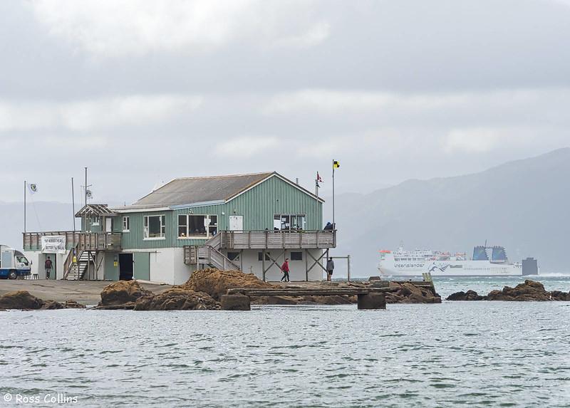 Worser Bay Boating Club building, 17 April 2018
