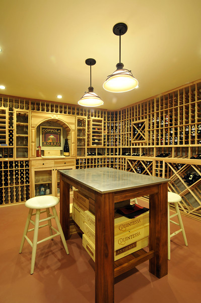 3--Wine cellar in the basement next to the play room