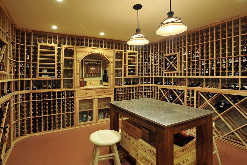 7-Wine cellar in the basement next to the play room