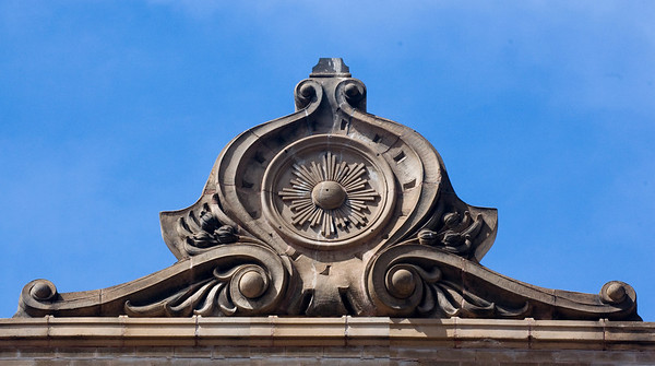 Ornate Details of this beautiful Renaissance Revival building that opened in 1910, as the Yokohama Specie Bank