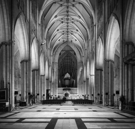 The Nave, Monochrome.