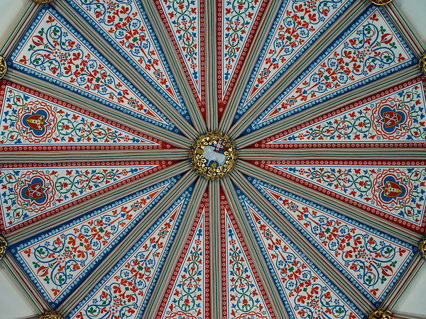 Central Boss, Chapter House Ceiling.